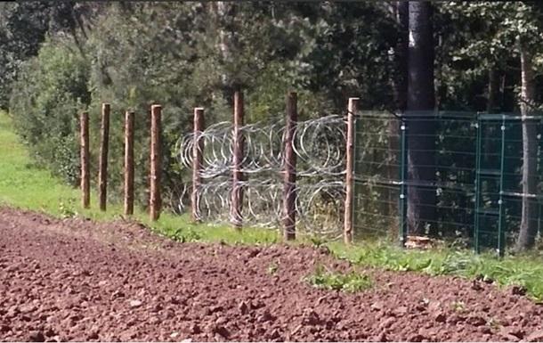 Россия отрицает строительство забора на границе с Польшей