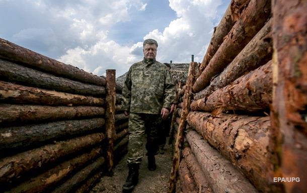 Порошенко заявил о рекордных обстрелах в зоне АТО