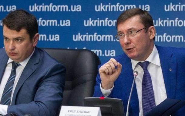 Куда заходит конфликт Луценко и Сытника