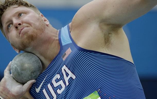 Легкая атлетика. Двойной подиум США в толкании ядра