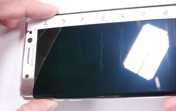 Samsung Galaxy Note 7 провалил тест на стойкость к царапинам