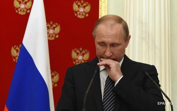 Киев направил в столицуРФ ноту протеста из-за визита В. Путина вКрым