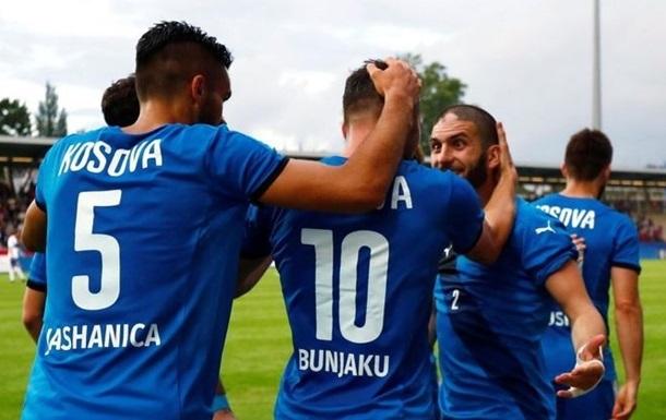 МИД Украины запретил футбольный матч со сборной Косово
