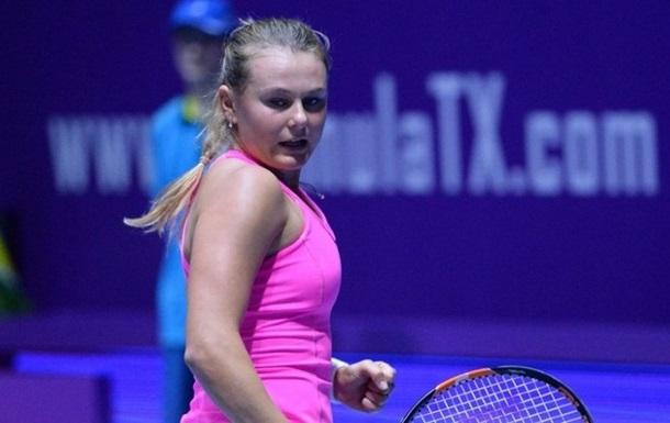 Теннис. Козлова проходит во второй круг