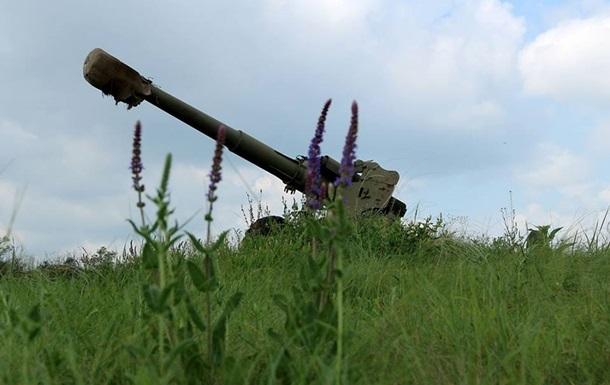 Сутки в АТО: у Донецка работала артиллерия