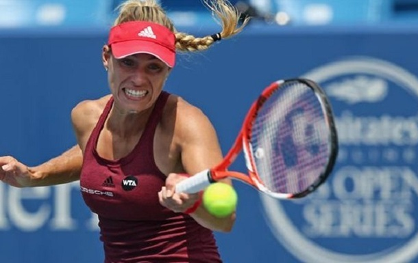Цинциннати (WTA). Кербер и Мугуруса в полуфинале, Халеп сильнее Радваньской
