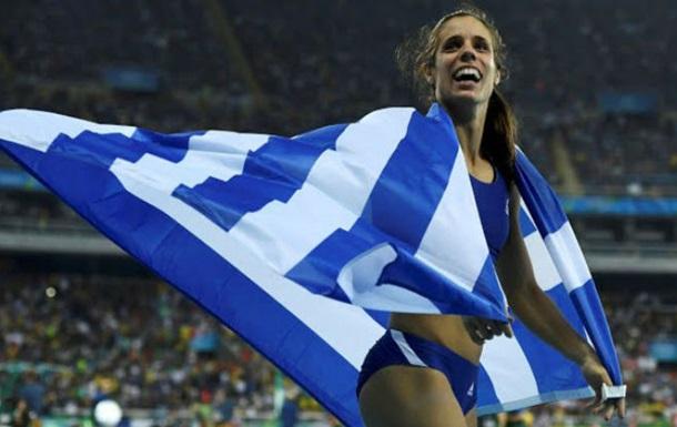 Легкая атлетика. Гречанка Стефаниди берет золото в прыжках в шестом
