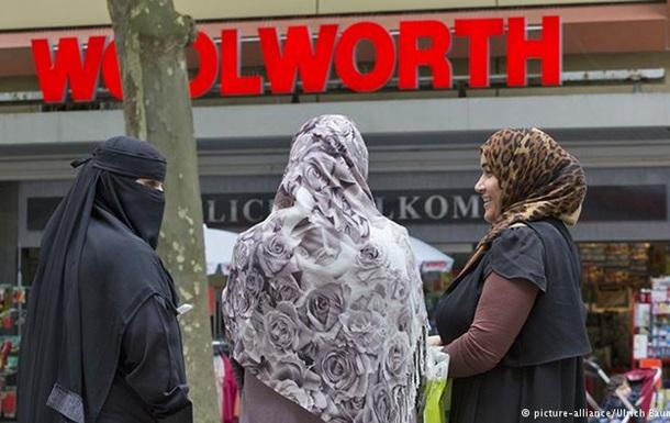 Полиция в ФРГ критикует предложение о частичном запрете паранджи