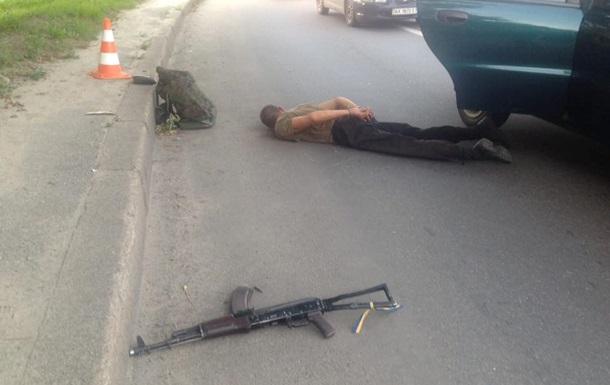 В Харькове военный открыл стрельбу из автомата