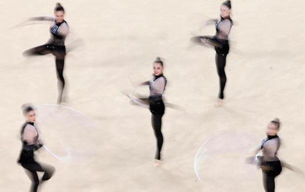 Художественная гимнастика. Команда. Украина - седьмая