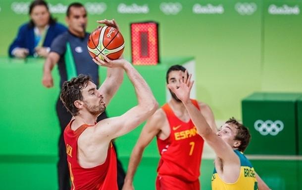 Баскетбол. Испания - бронзовый призер Олимпиады