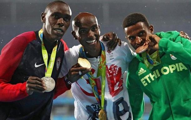Легкая атлетика. Британец Фарах - олимпийский чемпион на 5000 метров