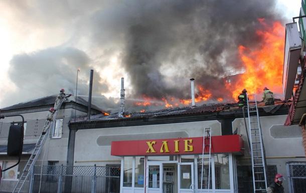 В Харьковской области горела пекарня