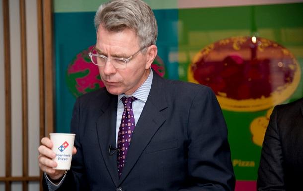 Посол США в Украине провел встречу с генеральным директором Domino s Pizza