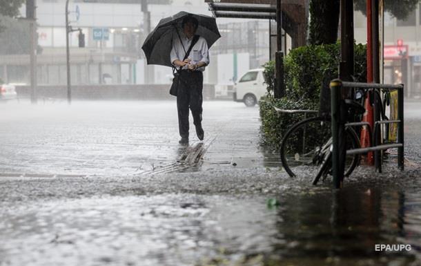 Тайфун  Одуванчик  вызвал разрушения в Токио
