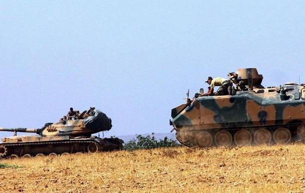 Турция начала операцию по освобождению от ИД сирийского Джараблуса