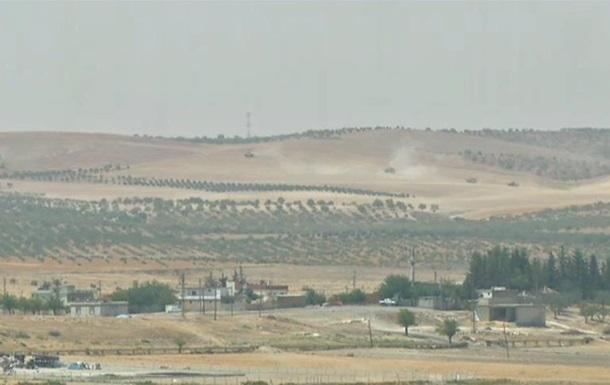Турецкие танки вошли на территорию Сирии