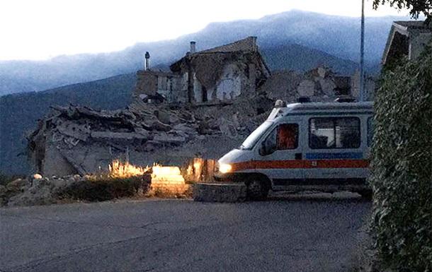 Землетрясение в Италии: более 70 жертв