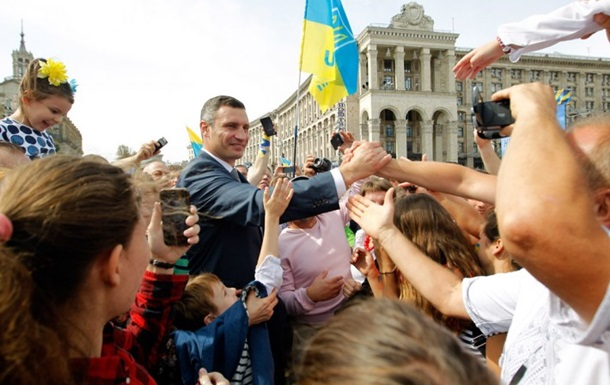 Кличко сравнил Украину со слоном