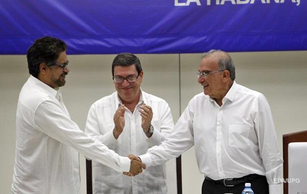 Правительство Колумбии и повстанцы заключили мир