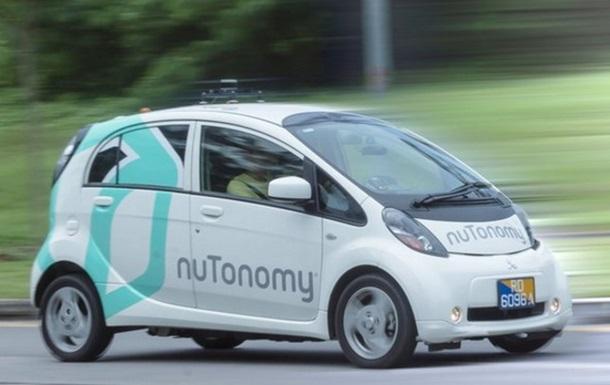 В Сингапуре запустили первое в мире беспилотное такси