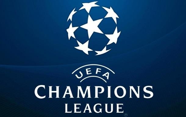Результаты жеребьевки группового этапа Лиги чемпионов