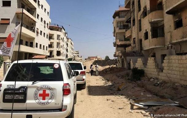 Отряды оппозиции покинули пригород Дамаска