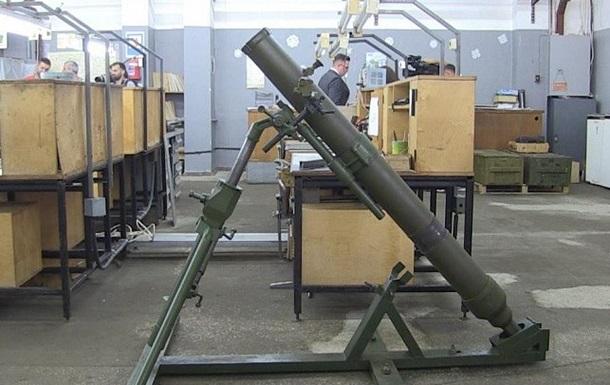Новая игрушка Порошенко: миномет по стандартам НАТО