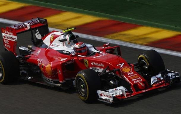 Формула-1. Гран-при Бельгии. Райкконен — быстрейший в третьей тренировке