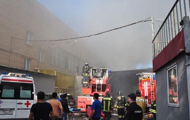 Количество погибших в пожаре в Москве возросло