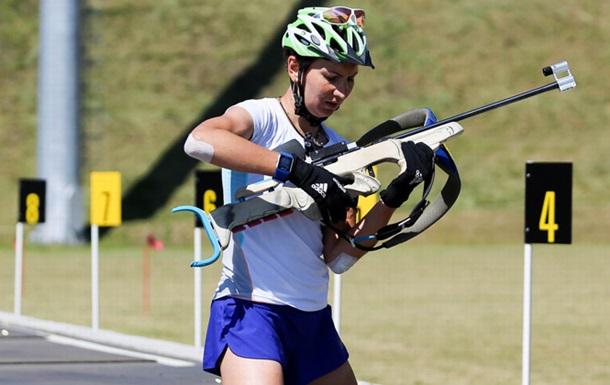 Пидгрушная выиграла спринт начемпионате мира полетнему биатлону