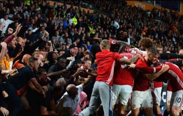АПЛ. МЮ вырывает победу на последних минутах, первые победы Арсенала и Лестера