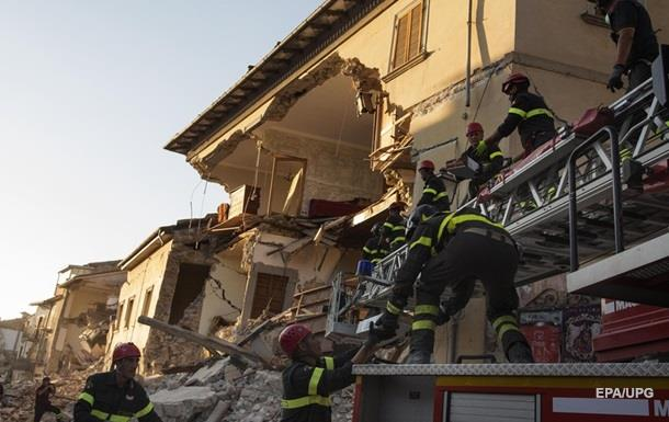 В Италии проверят качество домов, разрушенных землетрясением