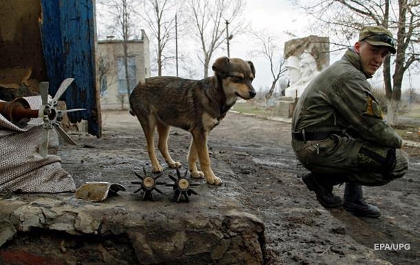 В зоне АТО за сутки один военный погиб, девять ранены