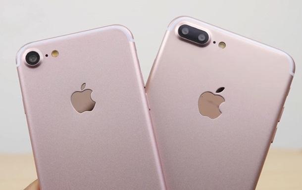 В сети появились основные характеристики новых iPhone 7, а также iPhone 7 Plus