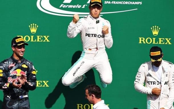 Формула-1. Хэмилтон - лучший гонщик Гран-при Бельгии