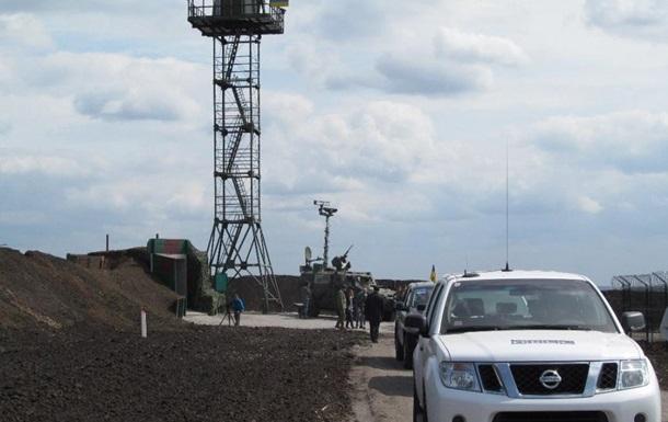 ВХарьковской области награнице сРФ установили вышку скамерой