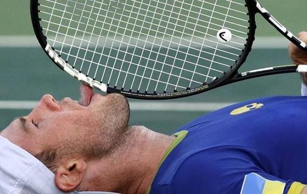 USOpen. Марченко пробился вовторой раунд, Долгополов снялся стурнира