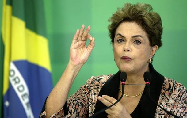 Президент Бразилии попрощалась словами Маяковского