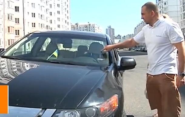В Минске водителя избили за флаг Украины
