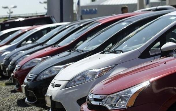 В Украине на 58% выросли продажи новых авто