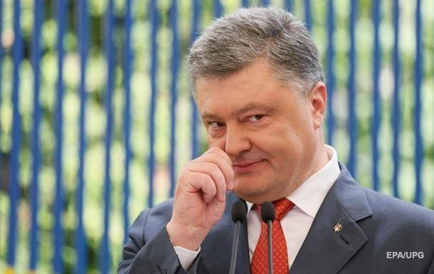 Порошенко поблагодарил США за санкции против РФ