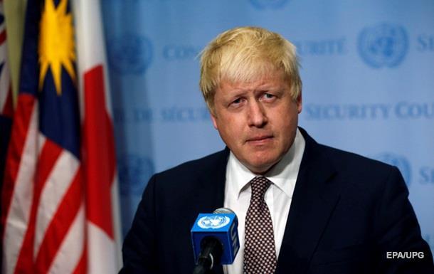 Британия пообещала поддержку суверенитета Украины