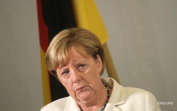 Доверие к Меркель упало до минимума за пять лет