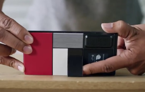 Google отказался отпроекта создания модульного телефона