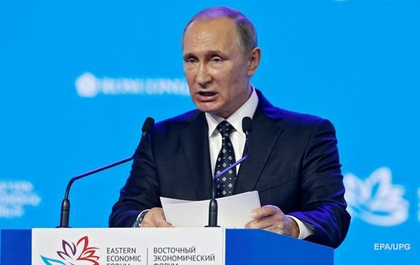 На Киев имеют влияние только США – Путин