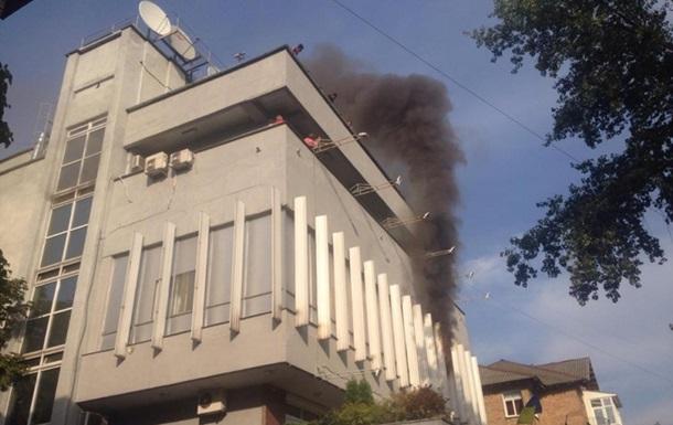 Интер  обратился к Порошенко из-за поджога