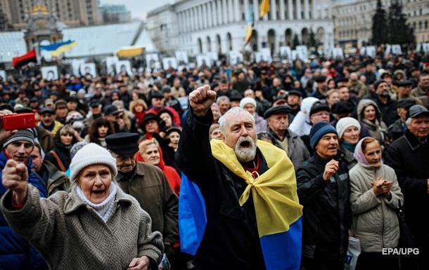 Половина украинцев допускает новый Майдан - опрос