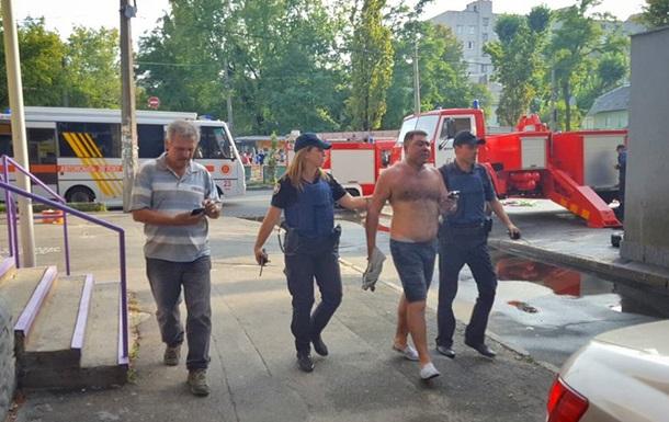 В МВД допускают, что поджог  Интера  - провокация