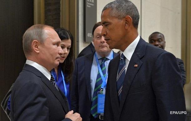 Песков поведал, очём говорили Путин иОбама